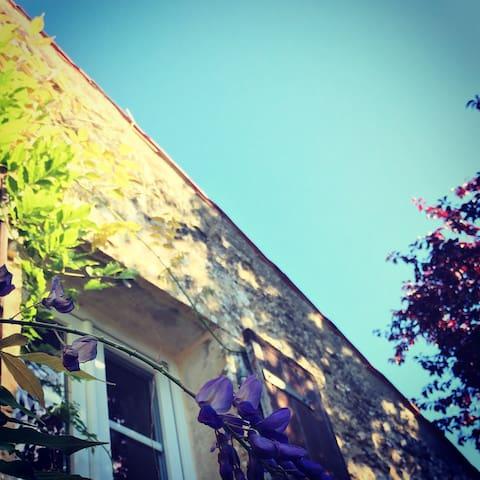 La Fosse, rural stone gite & pool - Foussais-Payré - Maison