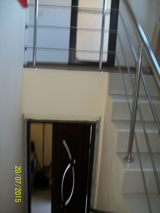 Access separate staircase