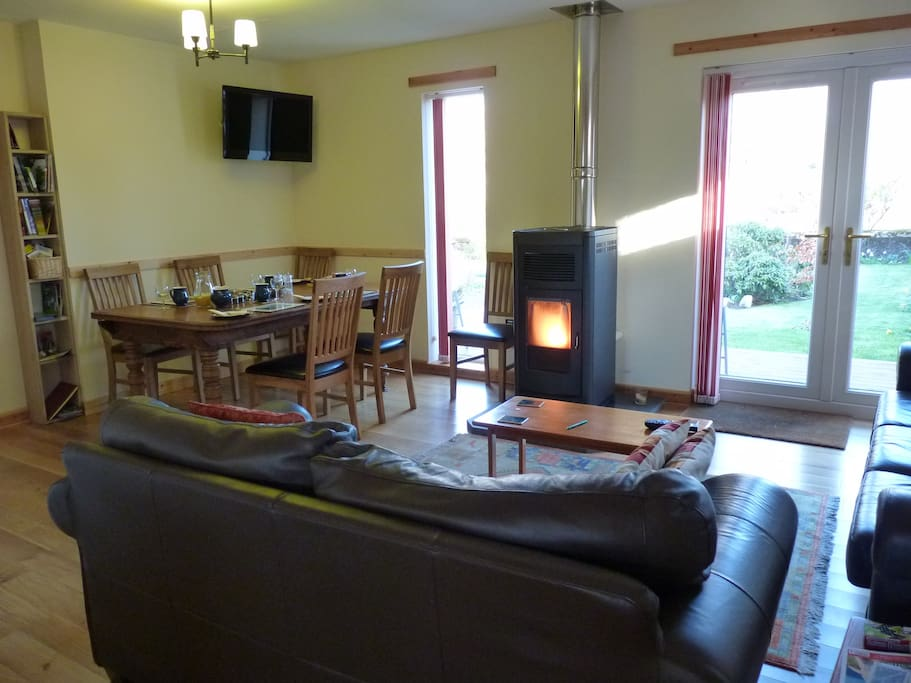 Open plan living for all to enjoy