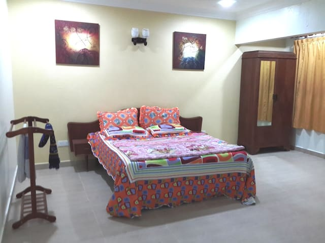 Master bedroom with aircond.