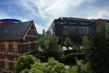 Large apartment downtown w/ balcony - Aarhus
