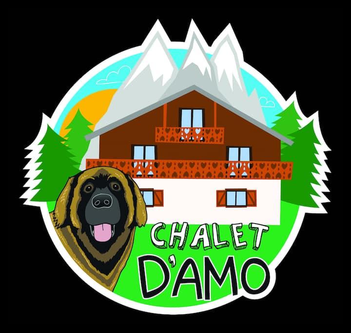 Chalet D'Amo - Alpine Lodge B&B Morzine sleeping 8
