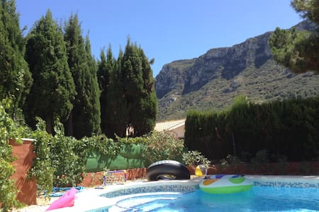 Spanish Villa with Private Pool - Barx - Huis