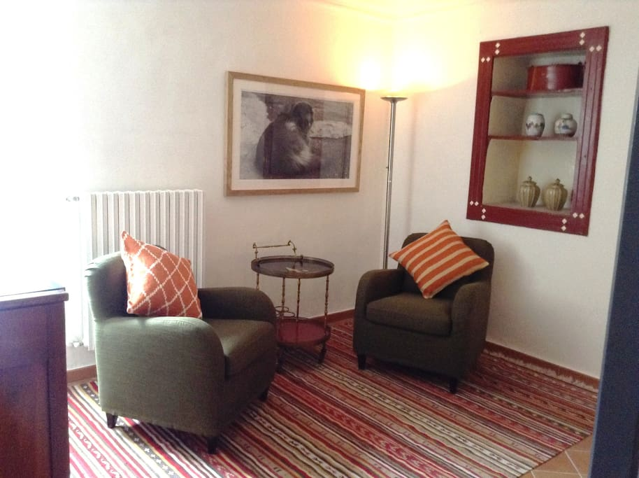 Aglianico double room on first floor with at nice seating area