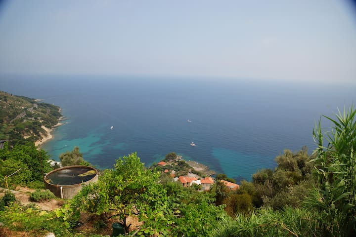 Grimaldi superb sea view close to Menton!!!