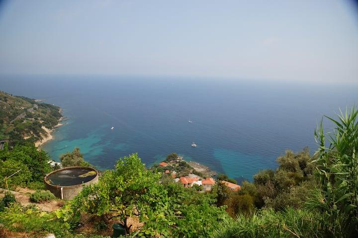 Grimaldi superb sea view close to Menton!!!