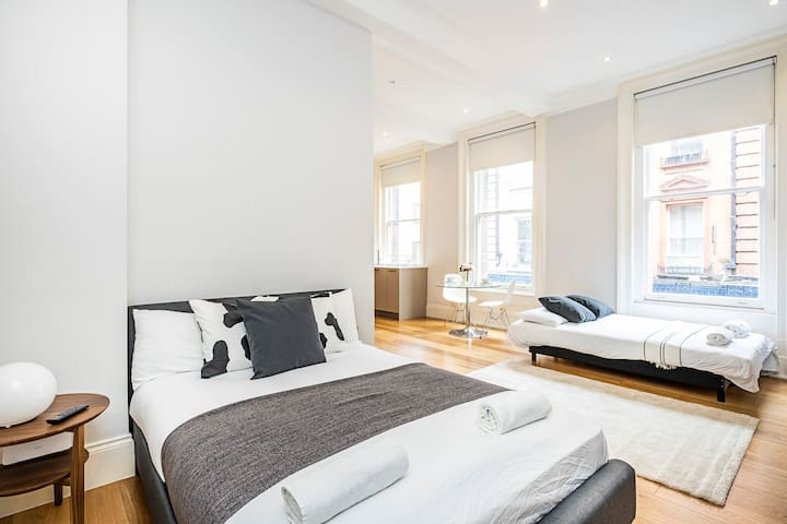 Stunning Studio Apartment Leicester Square