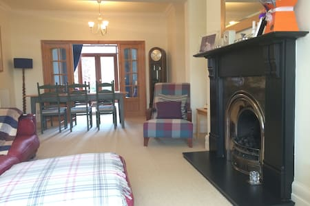 Family house close to the beach. - Whitley Bay - Rumah