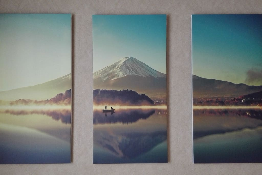 Wall art for Japanese inspired room
