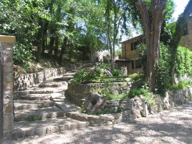 Ex water mill old stone house 15th century - Livorno - Appartement