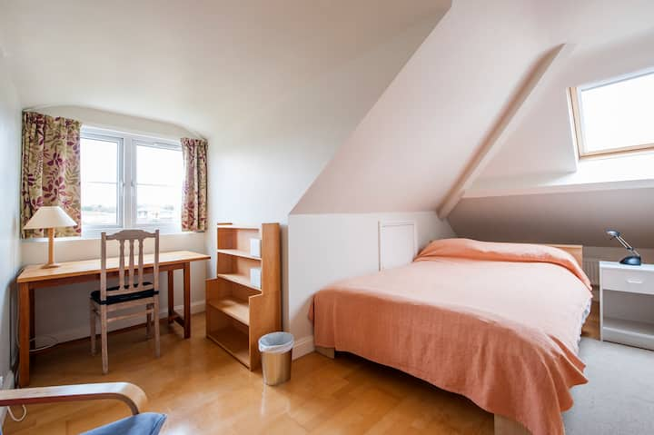 Attic double room with bathroom