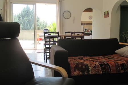 Bel appartement avec terrasse - Aujargues