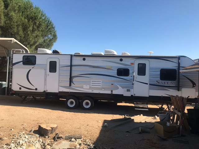Comfortable travel trailer