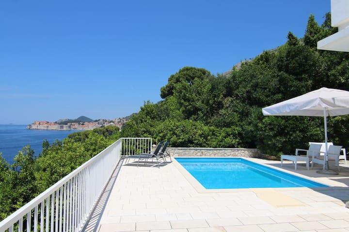 Dubrovnik villa on unique location