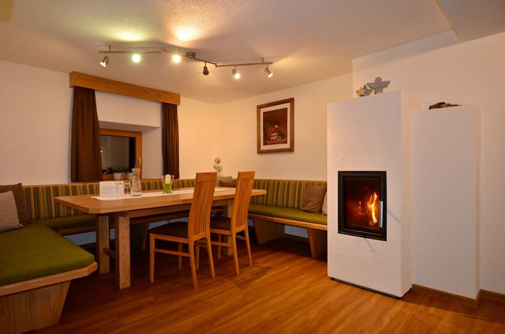 New Appartement with big living room and chimney