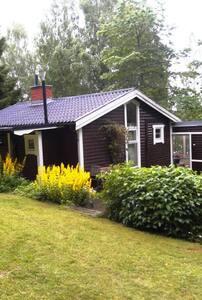 Holiday at the lake, nearTranås - Tranås NO - กระท่อม