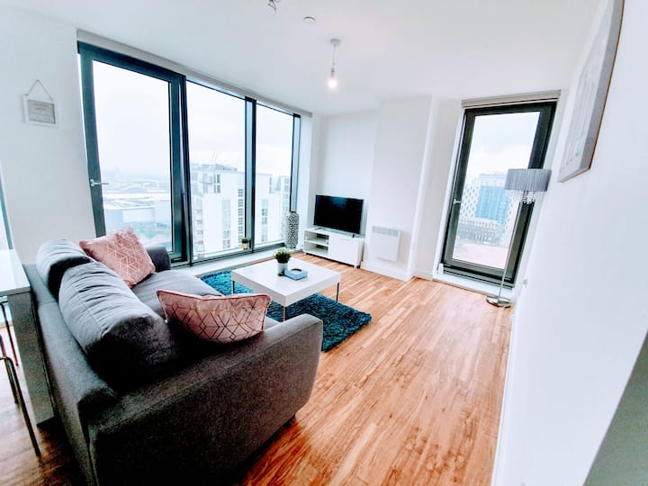 3 Bed Media City Salford Quays