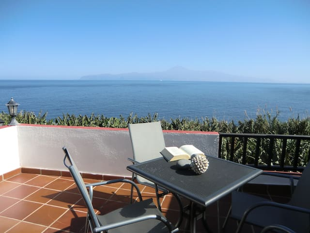 Romantic terrace with ocean views (II) adults only - Agulo - Byt