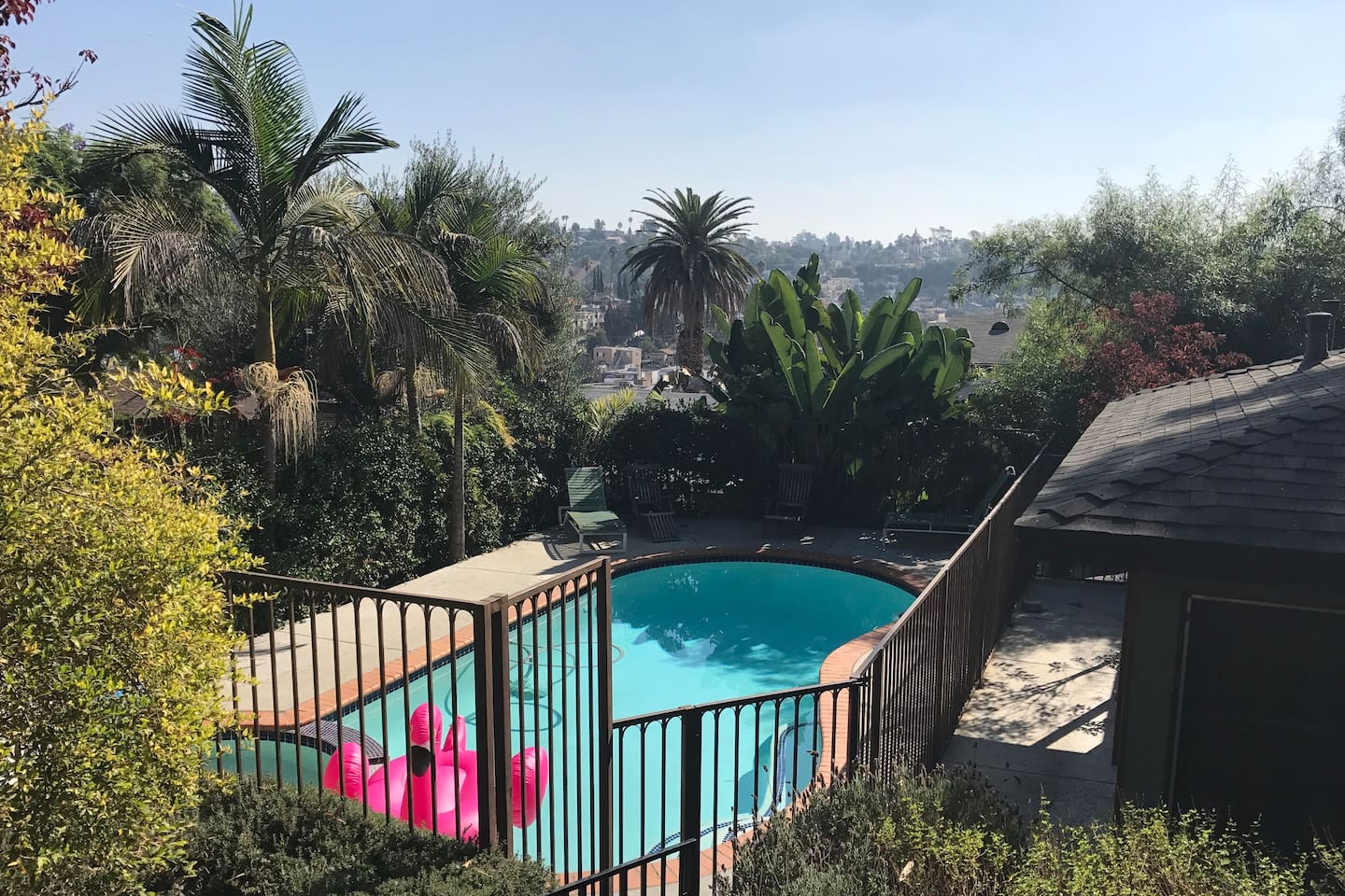 Located at the top of a hill in Echo Park you have stunning views!