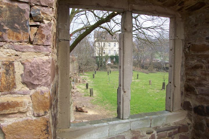 Blick vom Wasserschloss