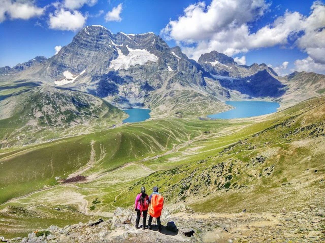 Great lakes of kashmir, I Do arrange trekking also, Guide myself