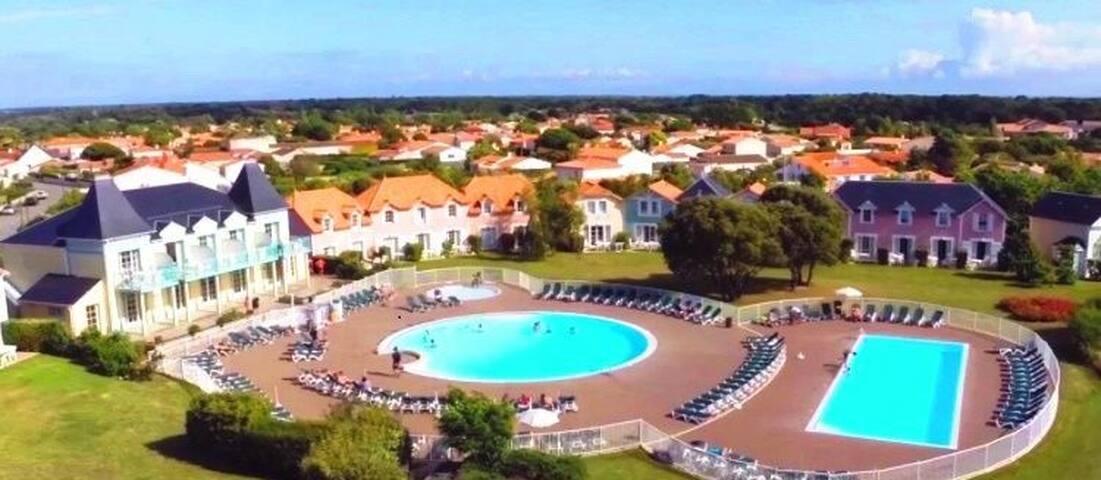 Maison 4/5pers Vendée proche mer sur Golf Pierre&V
