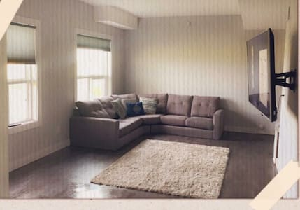 2 bedroom suite with private entrance.