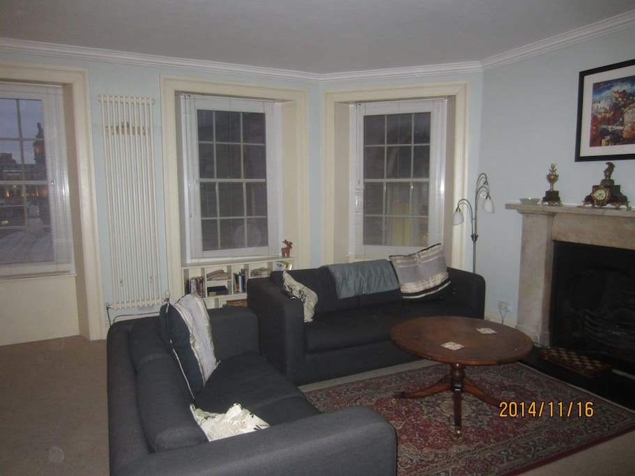 Living Room showing Sofa Bed