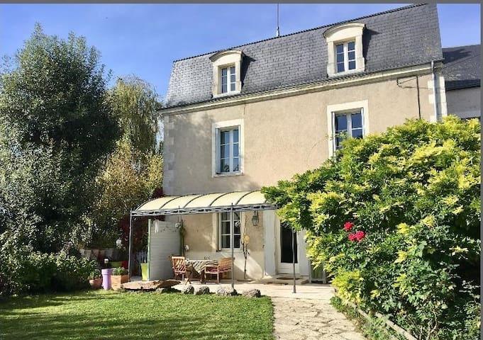 Maison familiale proche Châteaux de la Loire