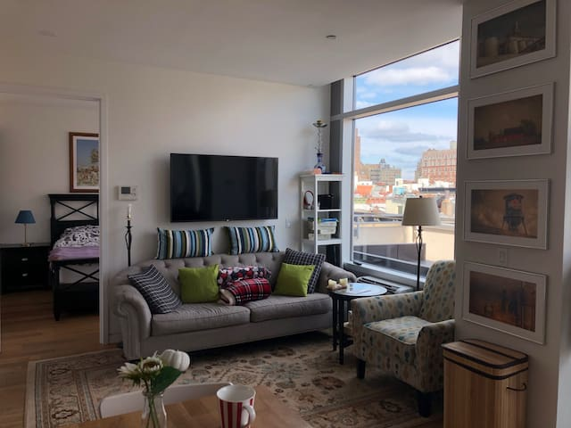 One private room in a brand new 2BR Penthouse!