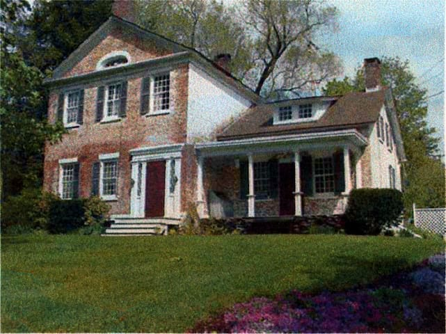 Historic JP Dorr House with Pool, Hillsdale NY
