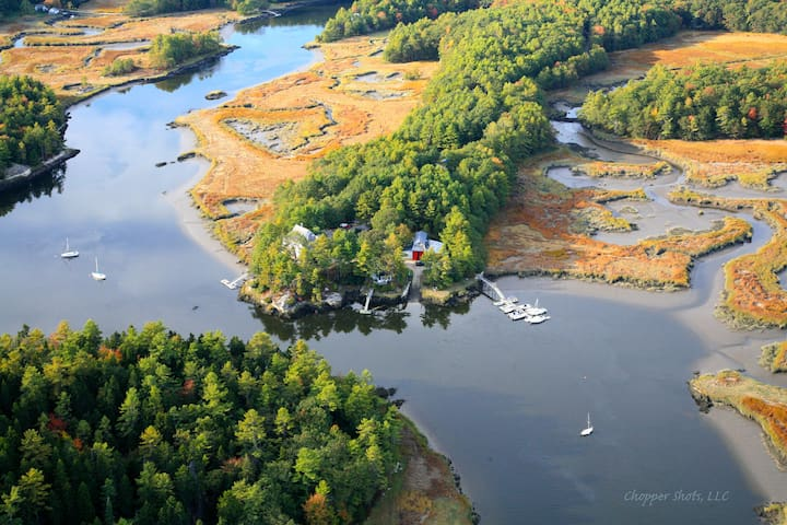 Coastal Cabin- Charming + Peaceful - Georgetown - Chalet