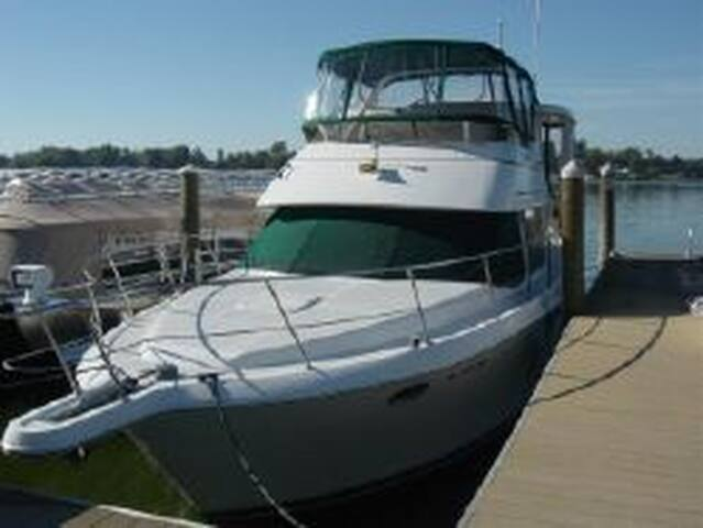 A fantastic boat in Grand Haven, MI (Lodging Only) - Grand Haven - Tekne