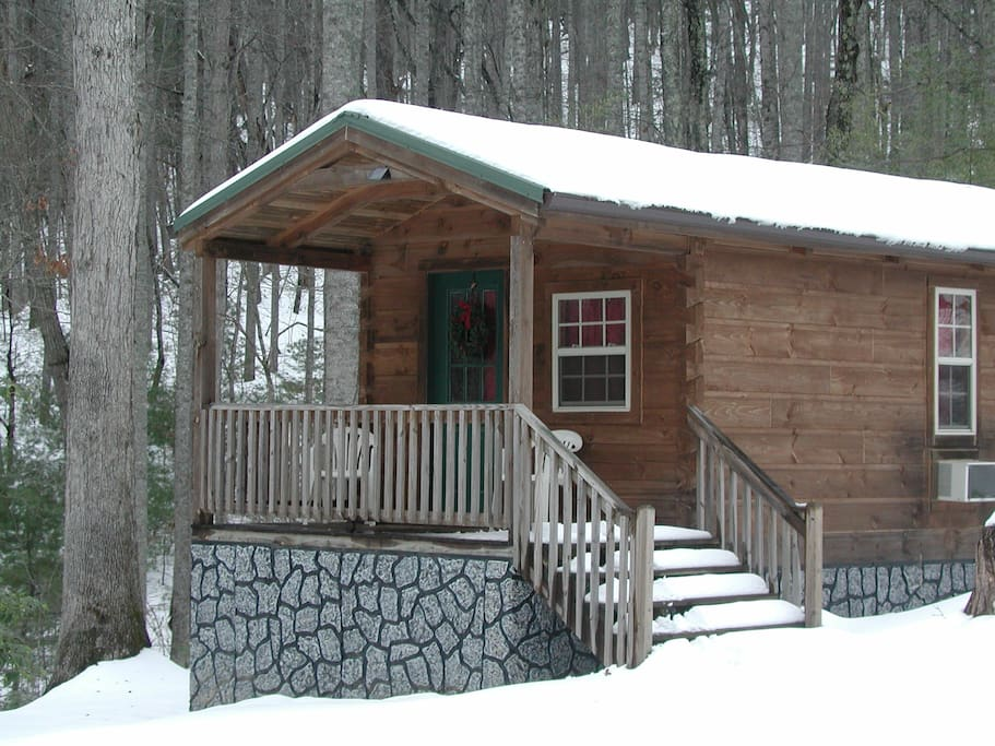 Forest den cabin cabins for rent in hendersonville for Cabins near hendersonville nc