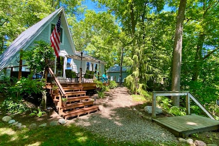 Seneca Lake Cabin w/Incredible Views, Beach & Dock