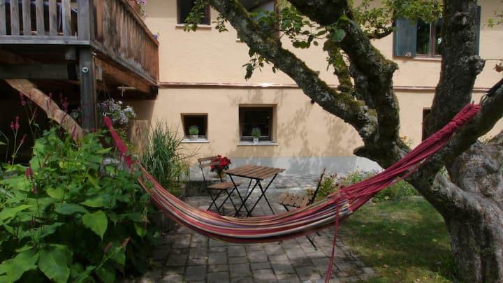 Home by brook, near lake Starnberg