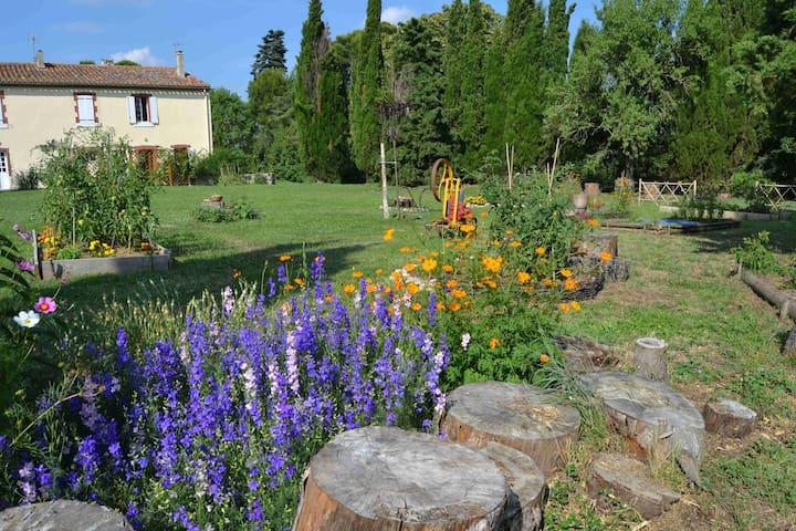 Domaine de Buscail, charm residence - Mazerolles-du-Razès - Casa