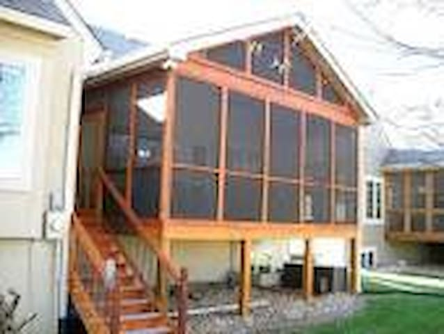 Beautiful screened TEST in porch - Columbus - Other