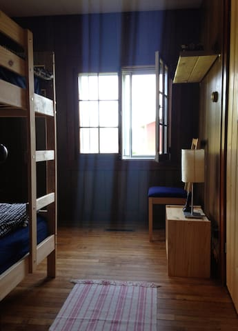 Bedroom #3 in the farmhouse.