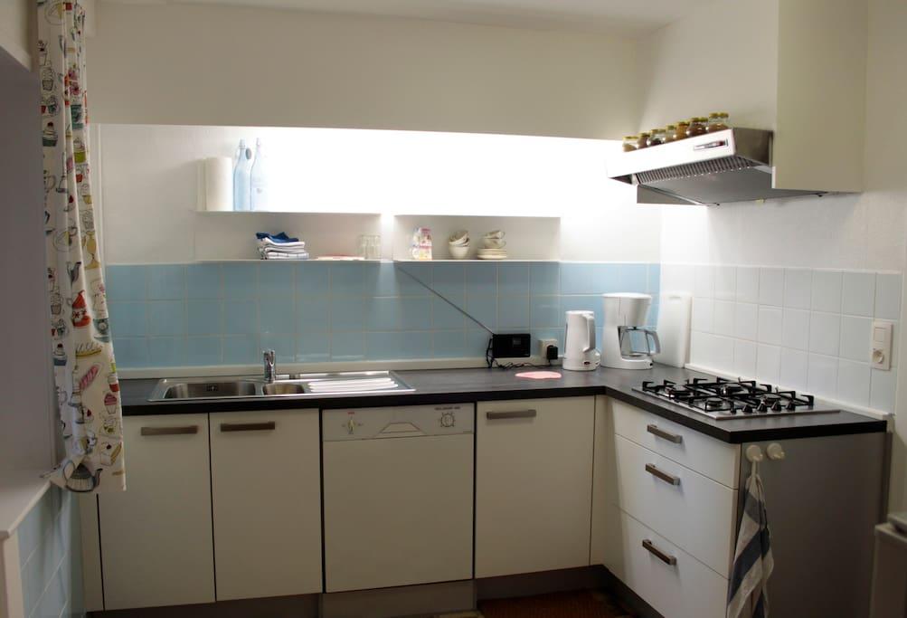 Keuken met alle comfort