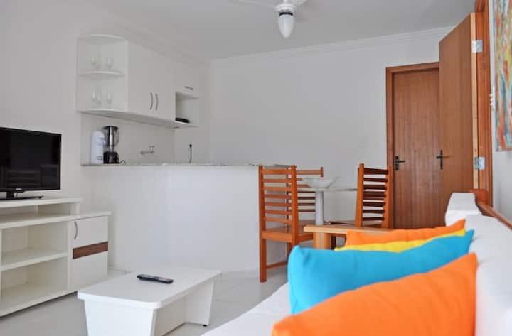 House close to the beach in condominium