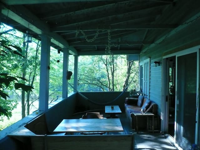 Relax: Creekside tree top apartment - Rosendale - Flat