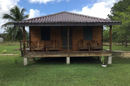 2 Cabanas Near Belize River (PRICE IS PER UNIT)