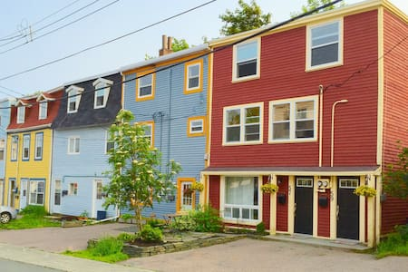 Downtown, 4-bedroom family home, near park - St. John's