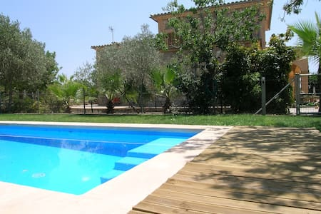Casa campo con piscina - Consell - Casa