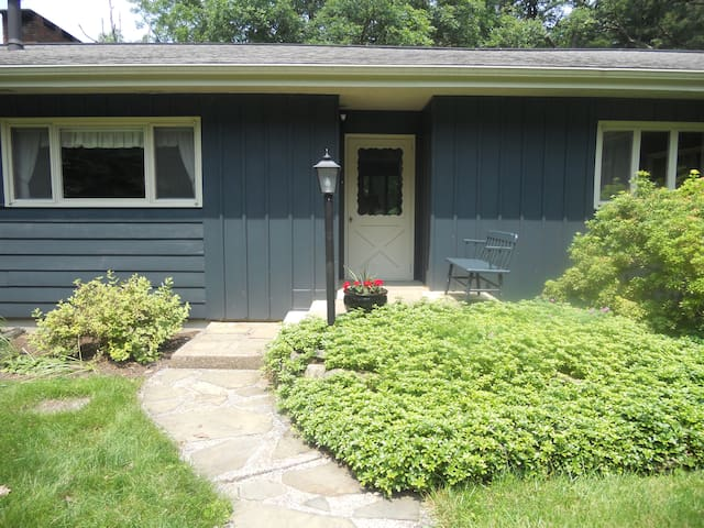 On 5 secluded acres near PSU!
