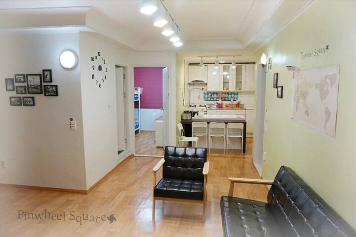 Sindorim Stn Share House(SNU/ Soongsil Univ)