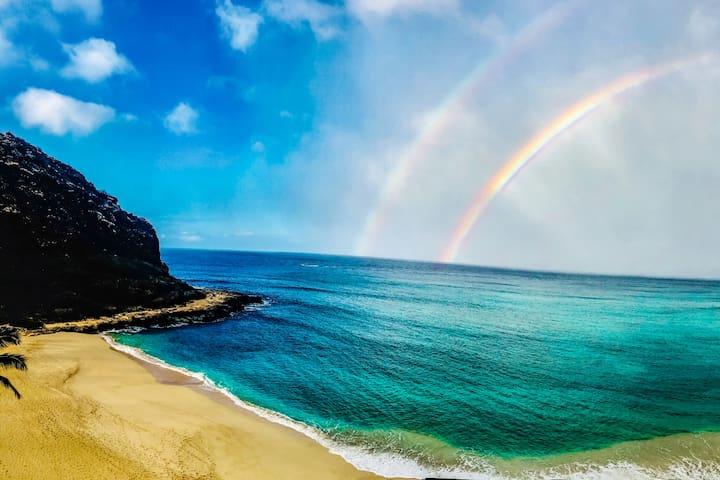 Beachfront- 30-day rental minimum-Waianae, Hawaii