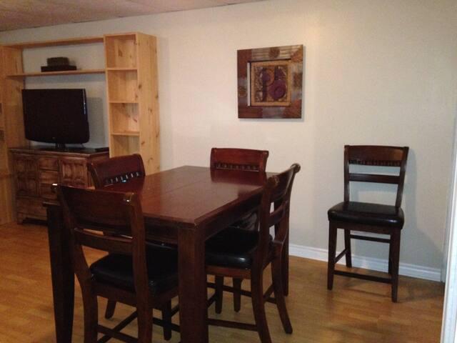 Espace propre entièrement meublé - Gatineau - Apartment