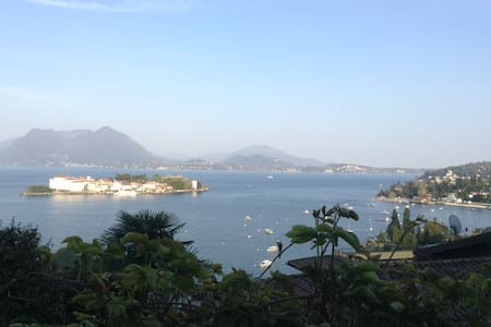 Breathtaking view + private garden - Stresa